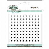 The Hobby House Self Adhesive Pearls - 3mm Midnight Magic - HH302